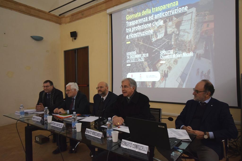 A Spoleto si celebra la Giornata della Trasparenza nella PA