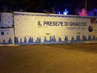 Arriva a Spoleto il presepe di ghiaccio più grande d'Italia