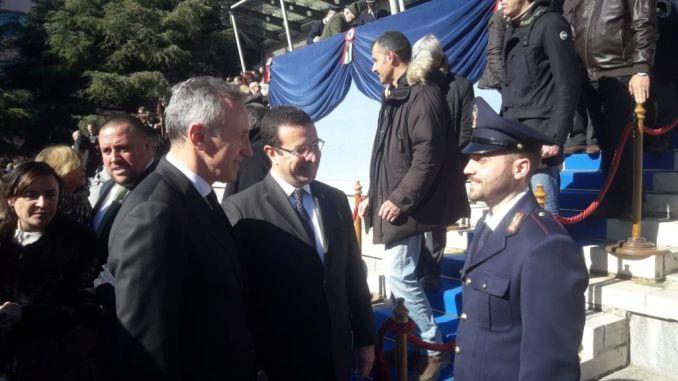 Il Sottosegretario Stefano Candiani in visita a Spoleto