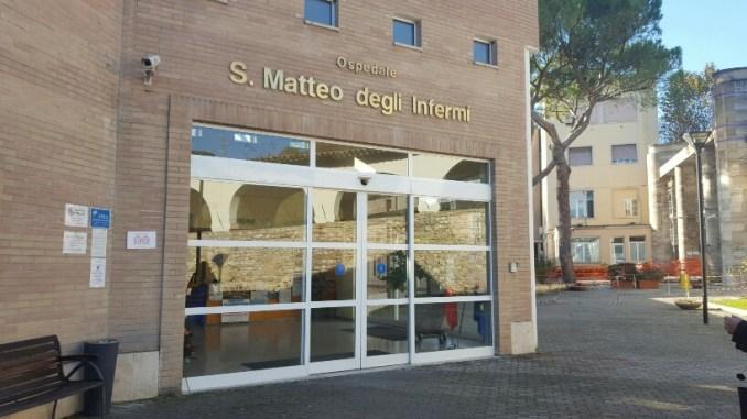 Ospedale di Spoleto: l'incontro tra il Sindaco de Augustinis e il Commissario Braganti
