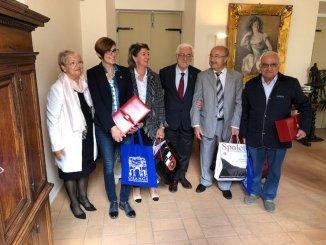 Gemellaggio Spoleto-Orange, primo incontro istituzionale a Palazzo