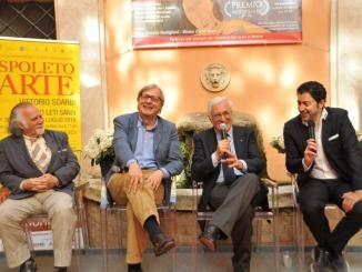 Spoleto Arte a cura di Sgarbi: l'inaugurazione con Alberoni e il Premio Margherita Hack