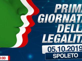 Prima giornata della legalità, a Spoleto sabato 5 ottobre