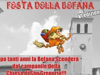 La Befana della Croce Rossa scenderà dal campanile di San Gregorio