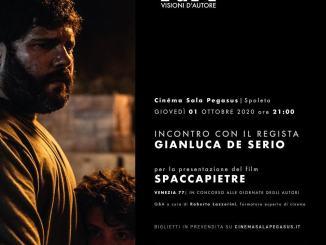 """Visioni d'Autore: il regista Gianluca De Serio presenta """"Spaccapietre"""""""