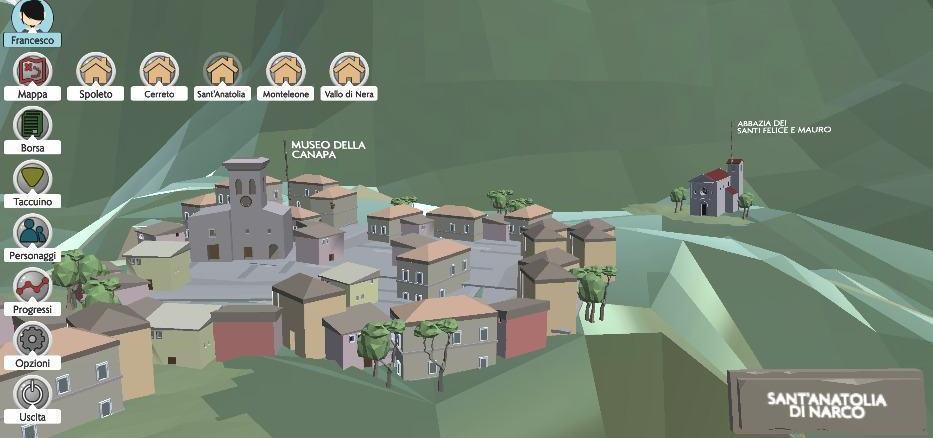 The Umbrian Chronicles, il videogioco che promuove l'Umbria