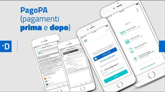 Il Comune di Spoleto attiva i servizi pagoPA, per i servizi erogati dall'Ente