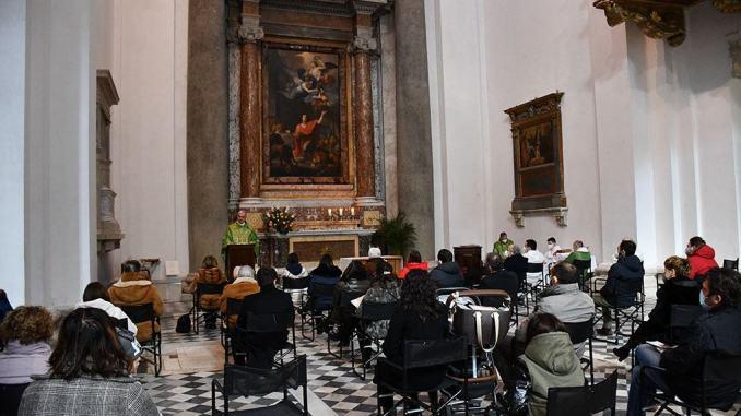 Messa per i Nati nell'anno 2020 all'Ospedale Spoleto, trasmessa in streaming