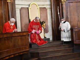 Spoleto, Domenica delle Palme: Messa dell'Arcivescovo in Duomo