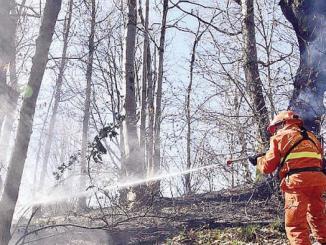 Protezione Civile del Comune di Spoleto su rischio incendi