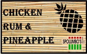Chicken Rum Pineapple Tag