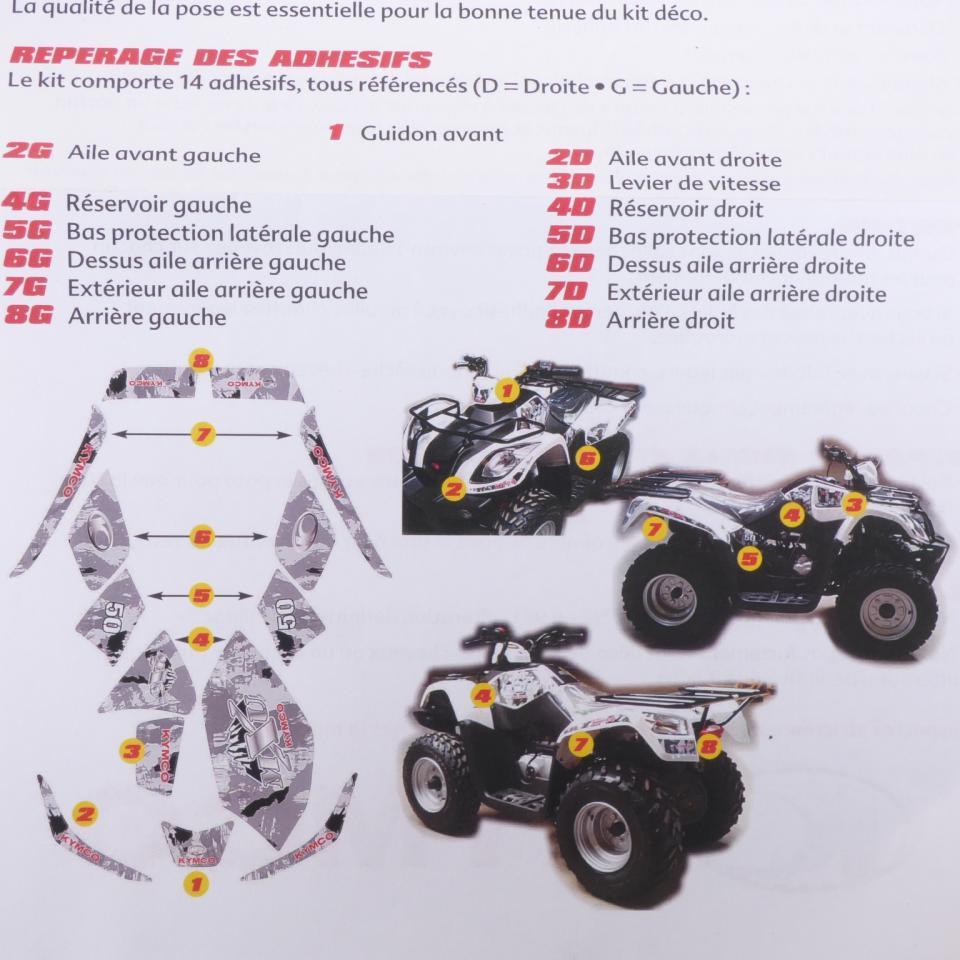 quad kymco 50 mxu neuf