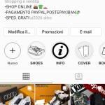 Cerco qualcuno che sponsorizzi il mio profilo instagram di shopping