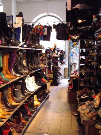 Stockholm 2008 - Second Hand Schuhe