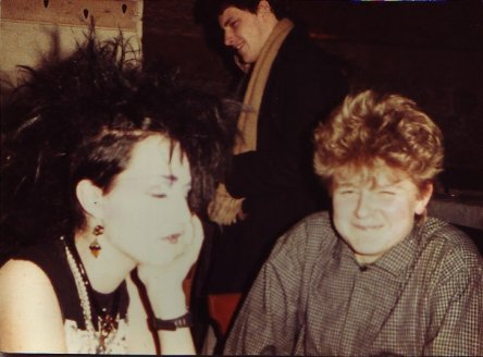 In der Kellerbar 1984