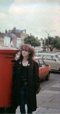 Melissa und der Briefkasten 1985