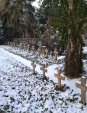 Friedhof Grunewald - Reihengraeber