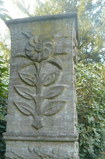 Eine steinerne Blume