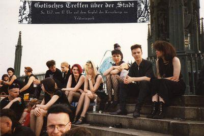 Berlin und Besucher 1995
