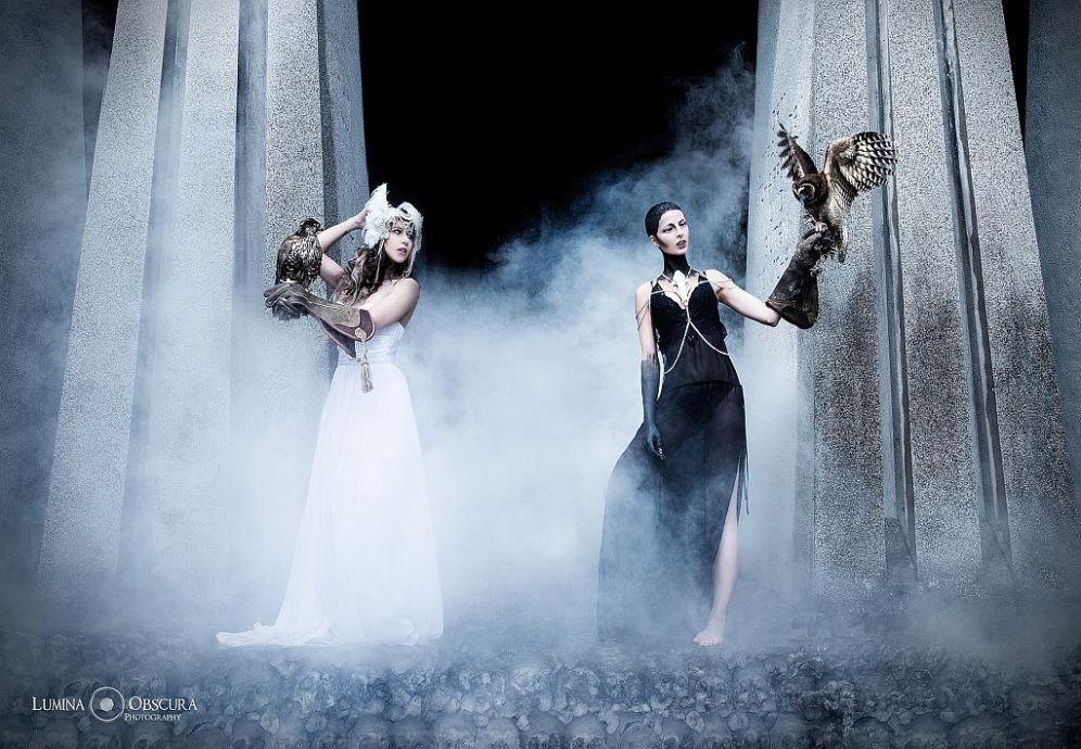Models: Dimdi, Karin Brunner, MuA: Philipp Keusen   (c) Lumina Obscura