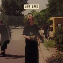 Ronny auf dem Wave-Gotik-Treffen 1995