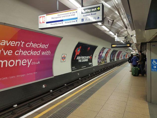 Endlich wieder in London. Endlich wieder die Gap minden.