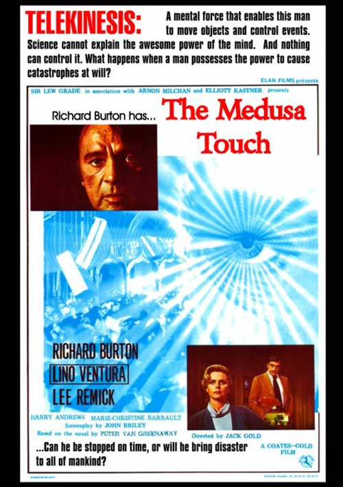 The Medusa Touch 1978 Review Spooky Isles