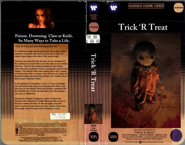 VHS Retro makes VHS covers from modern horror movies.