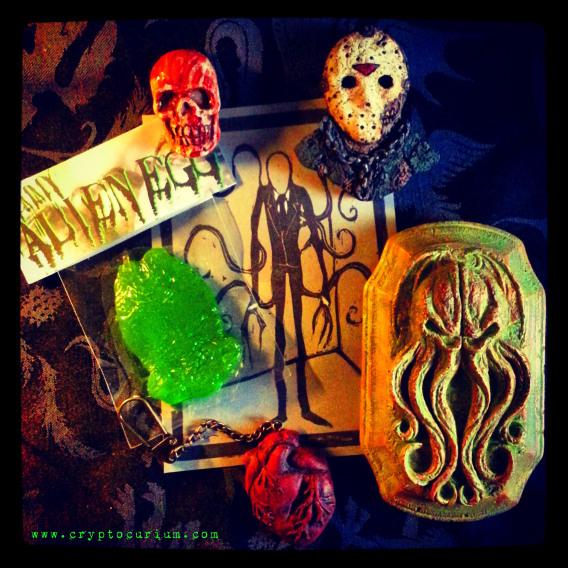 Parcel of Terror: All handmade subscription box
