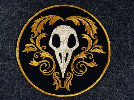 Handmade patches by Gerri Tullis. Via SheWalksSoftly.