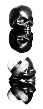 Skull lip balm from Rebel's Refinery