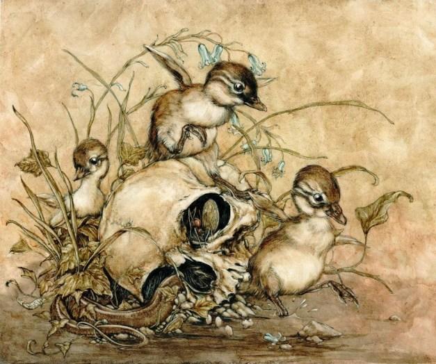 Jeremy Hush Illustration. Via Church of Halloween.