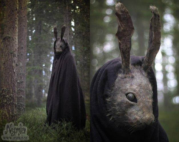 Creepy Rabbit Mask. Via Art of Darkness