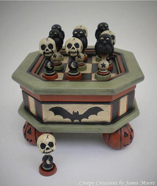 Skulls v Ravens Tic-Tac-Toe by Jamie Moore