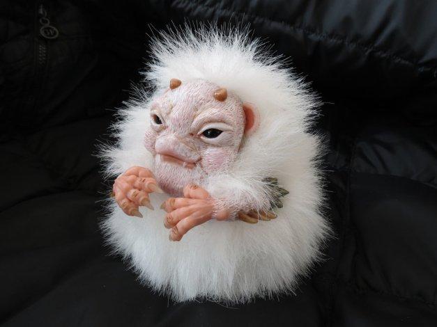 Fluffy Monster by Vladimir Sukhanov