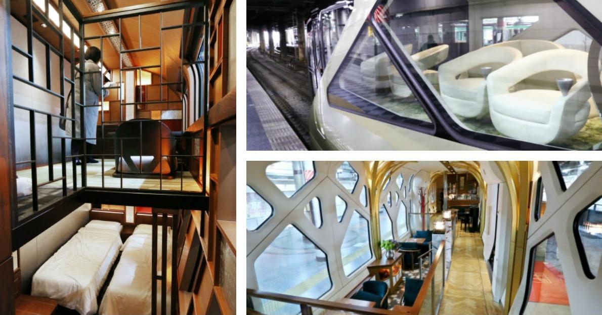 JR East Unveils Luxury Sleeper Train Designed By Ferrari