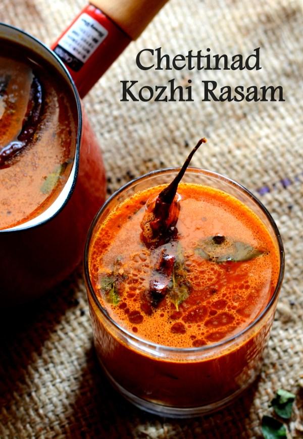 Chettinad Kozhi Rasam