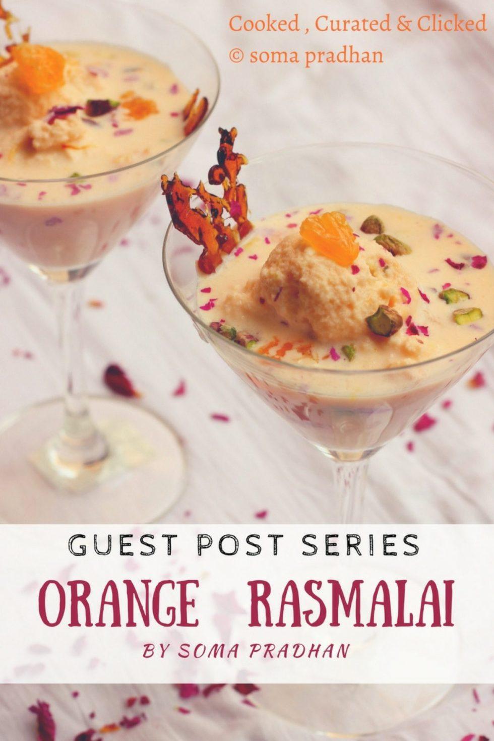 Orange Rasmalai