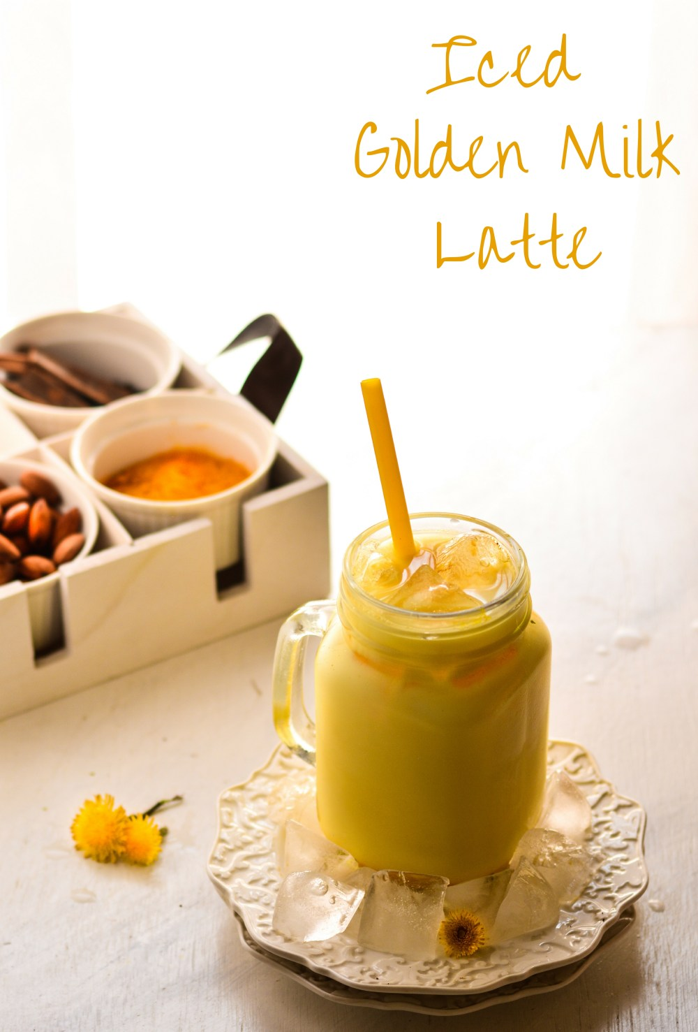 Iced Golden Milk Latte