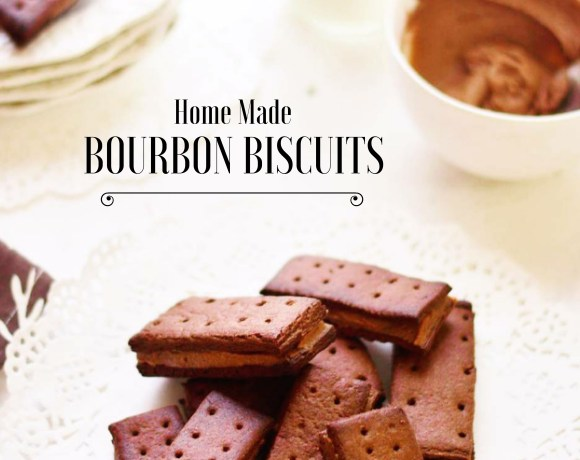 Homemade Bourbon Biscuit – Chocolate Cream Filled Biscuits
