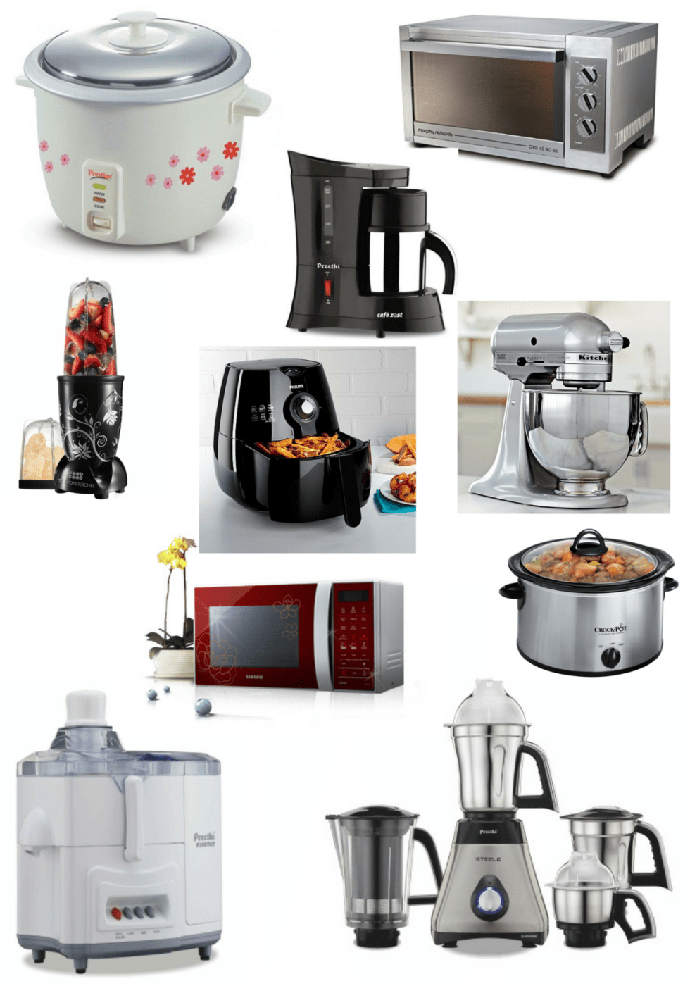 10 must have kitchen appliances