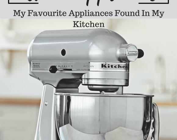 10 must have kitchen appliances