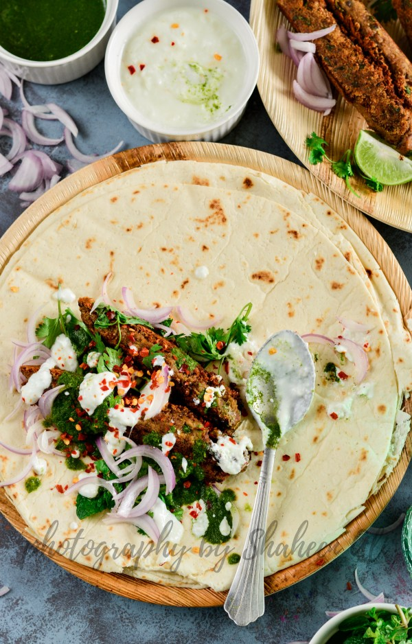 Stove Top Mutton Seekh Kebabs