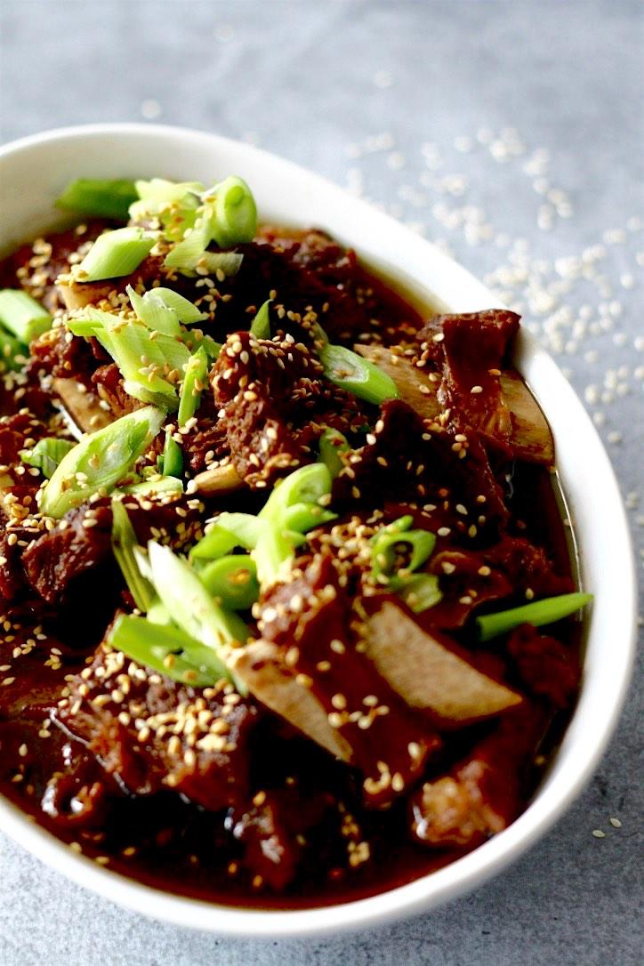 Korean Beef Stew (Galbi Jjim)