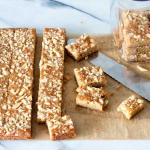 Caramel Bars - Max's Inspired | www.SpoonfulOfButter.com