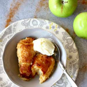 Easy Apple Dumplings | SpoonfulOfButter.com