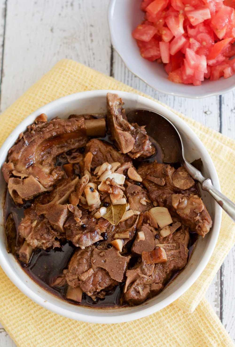 Filipino Pork Ribs Adobo