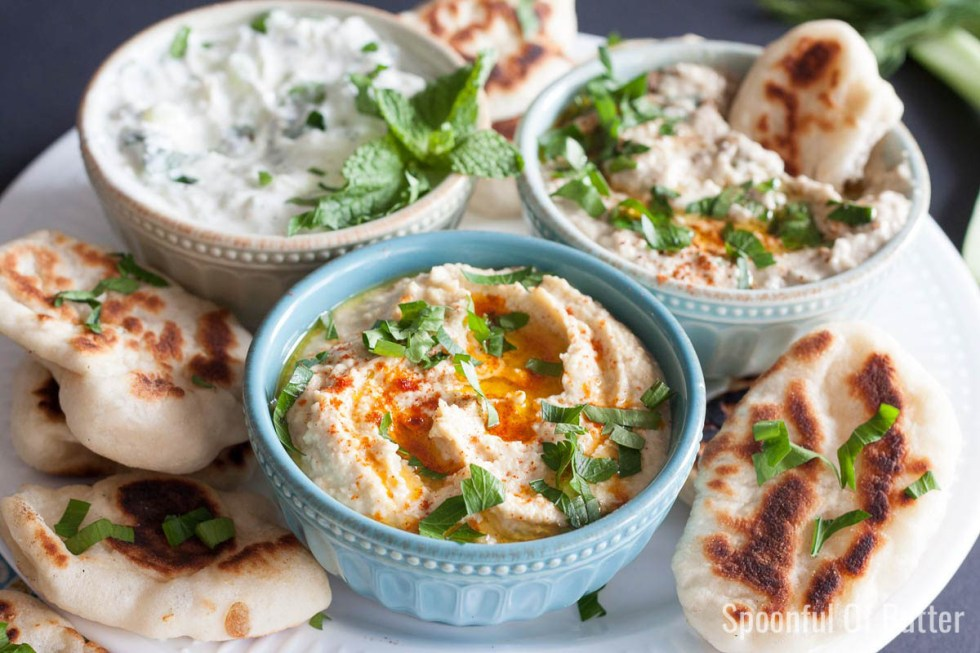 Everyone needs a good Hummus recipe - a classic done right.| www.SpoonfulOfButter.com