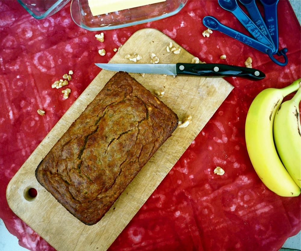 Flourless Banana Bread
