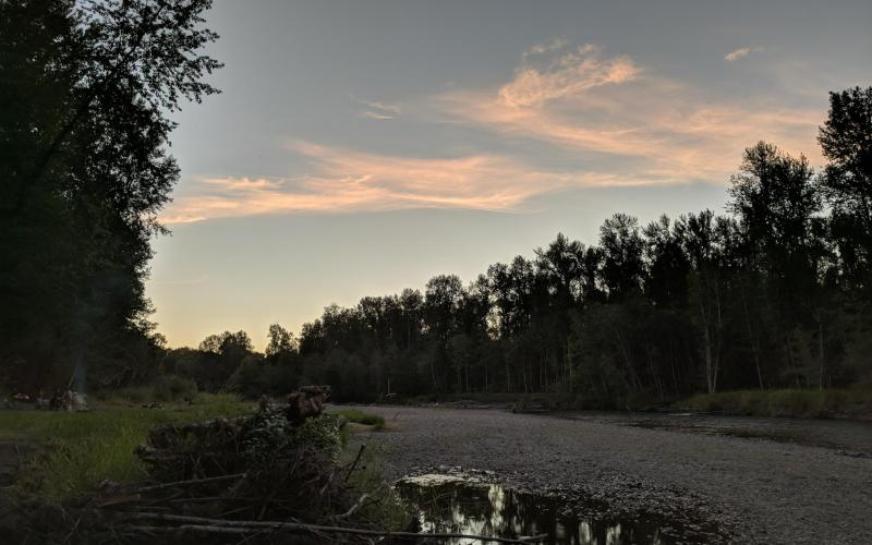 Riverbend Campground Evening